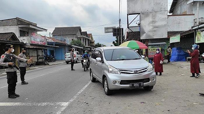 Info Larangan Mudik di Blitar, Petugas di Pos Penyekatan Tidak Temukan Kendaraan Pemudik