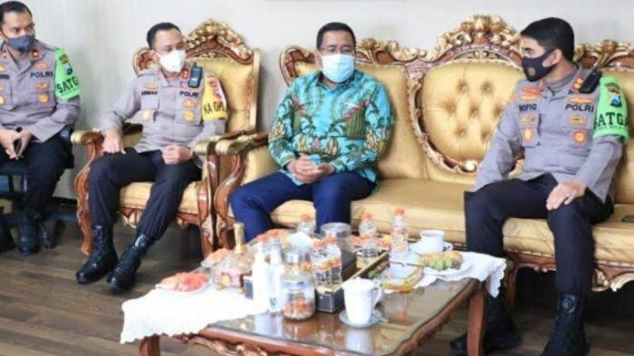 Pimpinan DPRD Jatim Temui Kepolisian Daerah, Pastikan Pilkada Patuhi Protokol Kesehatan