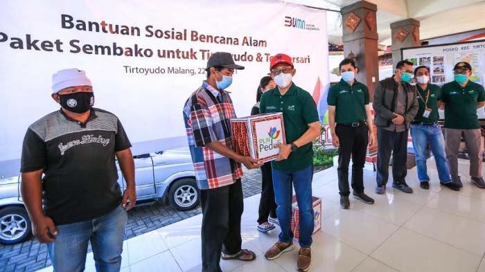 PLN Salurkan 1.000 Paket Sembako untuk Korban Gempa di Tirtoyudo, Malang dan Tempursari, Lumajang