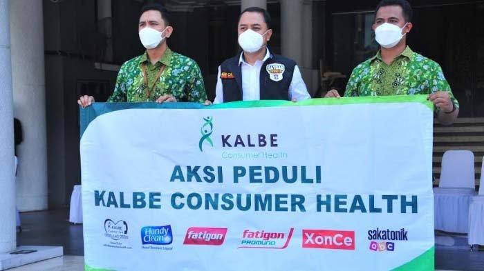 Kalbe Farma Dukung Pemkot Surabaya Tangani Covid-19 dengan Donasi Vitamin