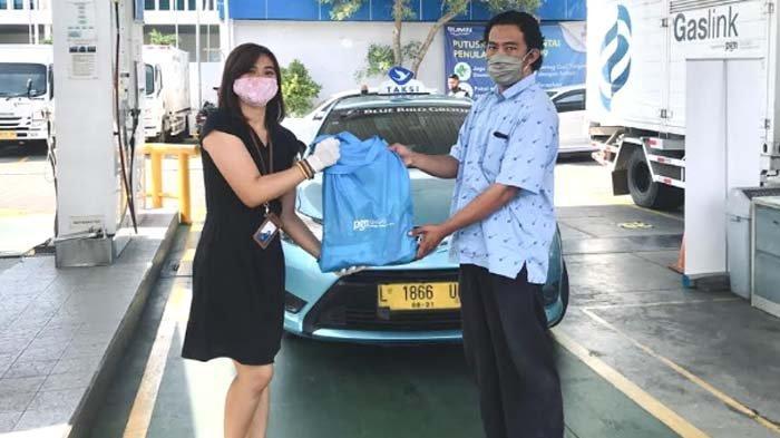 PT Gagas Energi Indonesia Bagikan Sembako untuk Pelanggan Gasku Terdampak Corona