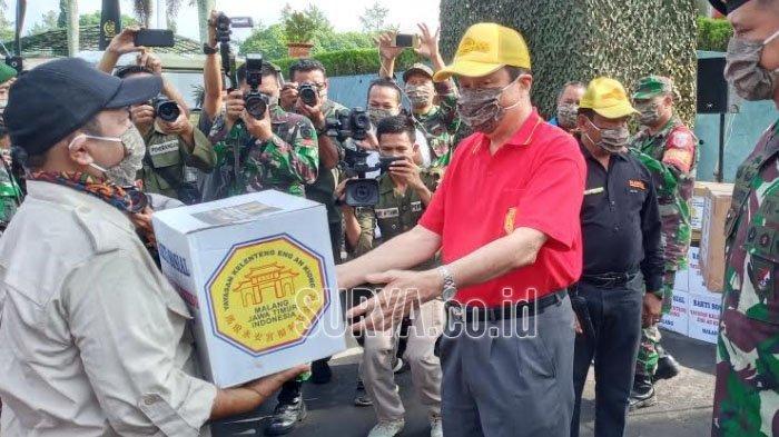 Bantuan 1.000 Paket Sembako untuk Warga Terdampak Covid-19 di Lereng Gunung Arjuno