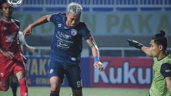 PSM Makassar saat menghadapi AREMA FC di pekan perdana Liga 1 2021