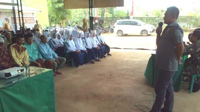 Kapendam V/Brawijaya Apresiasi Penyuluhan Bahaya Narkoba di Lokasi TMMD di Sampang Madura