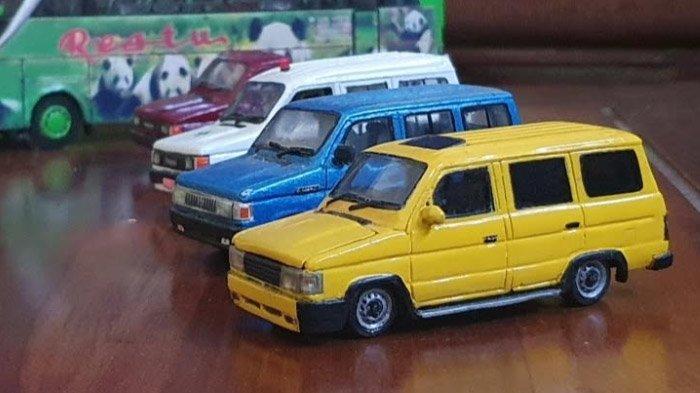 Di Usia 19, Miniatur Kendaraan Buatannya Terjual ke Seluruh Indonesia; Sandiaga Uno Beri Motivasi - perajin-miniatur-kendaraan-asal-pasuruan2.jpg