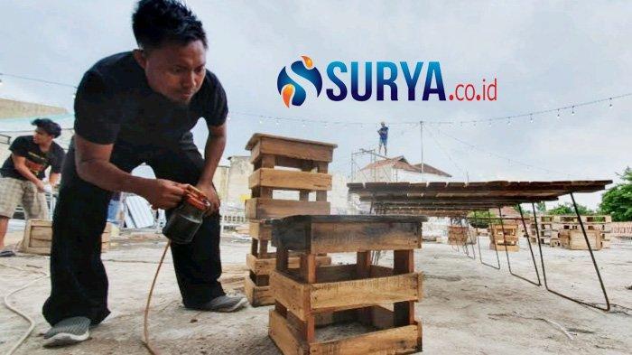 Nekat Produksi Perabot dari Kayu Bekas, Agen Properti Pasuruan Malah Sukses di Tengah Pandemi