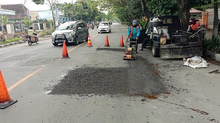 394 Titik Jalan Rusak di Kota Kediri Telah Dibenahi, Dinas PUPR: Ada Jalan Berlubang, Lapor ke Kami
