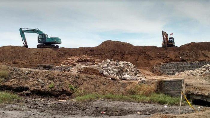 Tanggul Lumpur Lapindo Sidoarjo Ambles, Alat Berat Sudah Naik Tapi Belum Ada Perbaikan