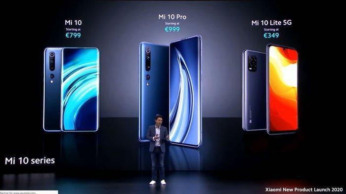 Keunggulan Xiaomi Mi 10 Lite 5G Baru Rilis di Eropa,Harga Lebih Murah, Bandingkan dengan Seri Pro