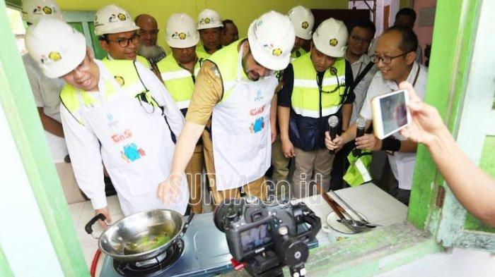 5.088 Sambungan Rumah Cukupi Kebutuhan Gas Bumi Bersih dan Murah Masyarakat Probolinggo