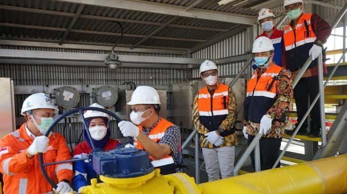 PGN Resmikan Jumperline Tambak Lorok Jateng guna Tingkatkan Keandalan Infrastruktur Pasokan Gas Bumi