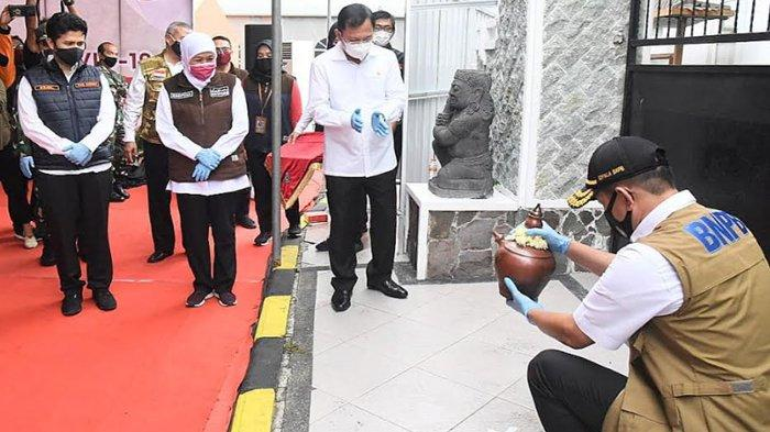 Rumah Sakit Lapangan Indrapura Jadi Andalan Jatim Sembuhkan Pasien OTG Covid-19