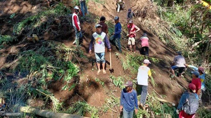 Pencari Rumput Tertimbun Longsor di Ampelgading Kabupaten Malang, Pencarian Dilanjutkan Hari Ini