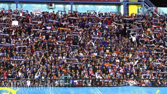 20 Ribu Aremania Akan Dukung Arema FC di Markas Bhayangkara FC