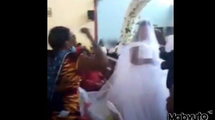 VIRAL Pernikahan Ambyar saat Istri Sah Datang Bawa 3 Anak Sambil Ngamuk-ngamuk: Dia Suami Saya!