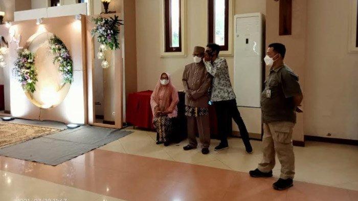 Tegangnya Akad Nikah di Kota Kediri, Digelar di Hotel Tetapi Dibatasi 10 Orang; Tanpa Resepsi