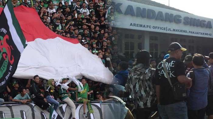 Derby Jatim Tanpa Penonton, Laga Persebaya vs Arema FC Digelar di Blitar, 600 Personel Diturunkan
