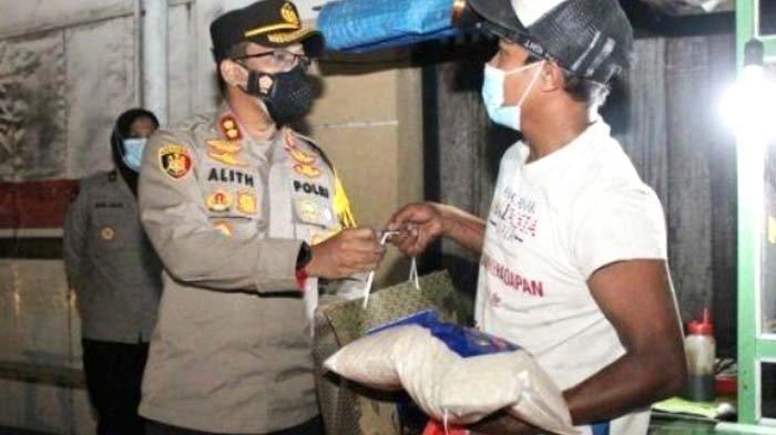 Polres Bangkalan Siapkan Bantuan 60 Ton Beras untuk Masyarakat Terdampak PPKM Level 4
