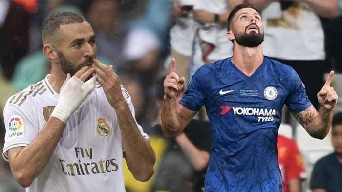 Jelang Euro 2020, Striker Prancis Perang Urat Syarat, Benzema Kritik Peran Giroud di Timnas
