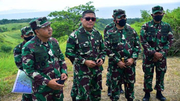 Komandan Kodiklatad Letjen TNI AM. Putranto melakukan peninjauan untuk persiapan Garuda Shield. Latihan perang tersebut akan dihadiri 120 pasukan US Army
