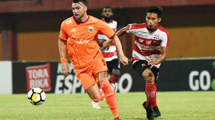 Madura United Vs Persija Jakarta 0-1: Gomes Akui Lemah Penyelesaian Akhir