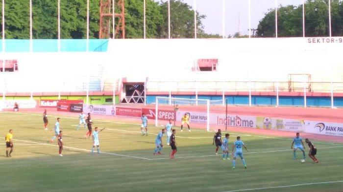 Persipura Vs Persela: Laskar Joko Tingkir Tertinggal 1-0 hingga Babak Pertama