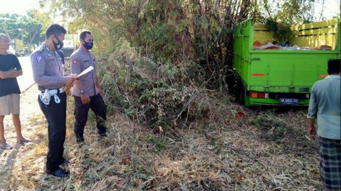 Sopir Truk Asal Lumajang Tabrak Pohon di Kabupaten Pamekasan, Bermula dari Rasa Kantuk