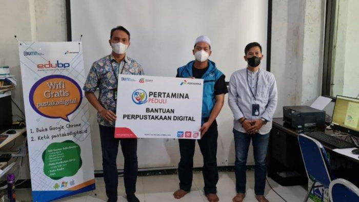 Pertamina Bersama Balai Pustaka Bantu Perpustakaan Digital di Surabaya dan Jombang, Ini Tujuannya
