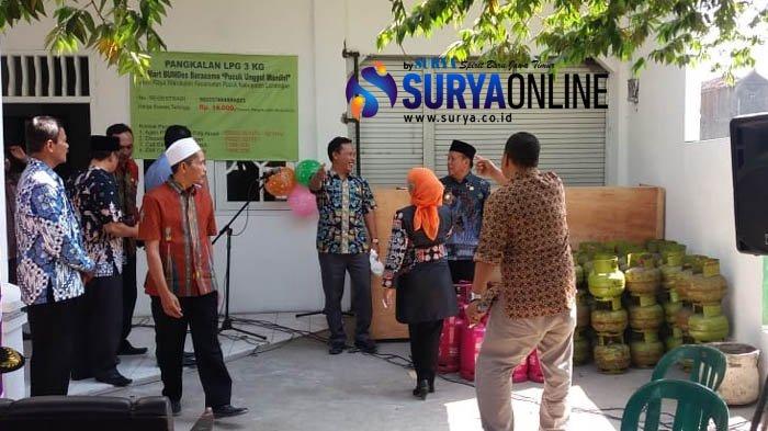 Antasipasi Kelangkaan, Pertamina Gandeng BUMDes di Lamongan untuk Jadi Pangkalan Elpiji
