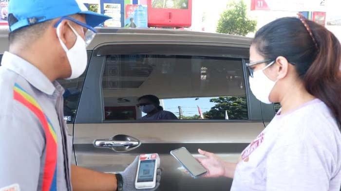 Dua Pekan Uji Coba, Transaksi Nontunai SPBU di Surabaya Direspons Positif Konsumen
