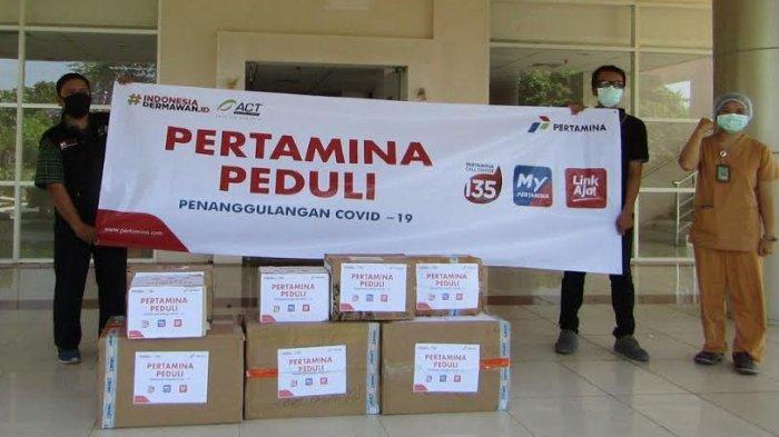 Pertamina Sumbang APD Untuk Rumah Sakit Rujukan di Tiga Provinsi