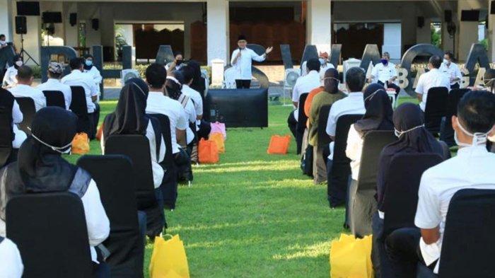 Suasana Haru Warnai Pertemuan Tenaga Kesehatan Pejuang Lawan Covid-19 di Banyuwangi