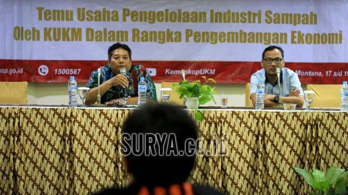 Kementerian Koperasi dan UKM Bareng APSI Dorong Pengusaha Sampah di Jawa Timur Naik Kelas