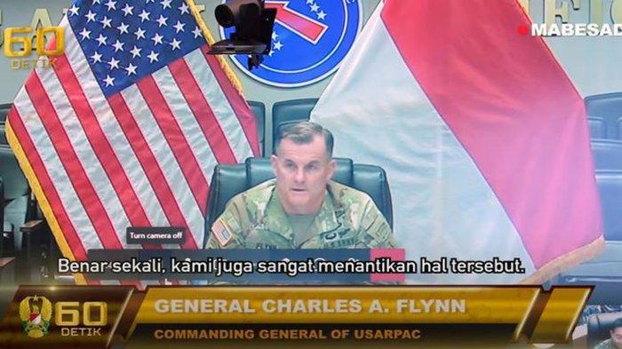 Tak Sabar Lihat Garuda Shield, Perwira Amerika Tiba di Indonesia & Disambut Jenderal Andika Perkasa