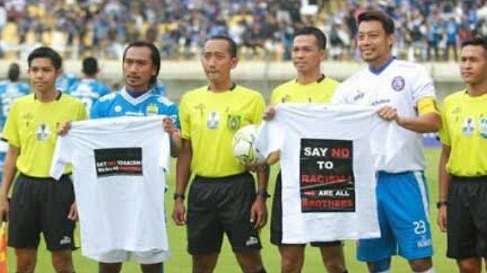 Pesan Hamka Hamzah untuk Aremania Jelang Laga Arema FC Vs Persib Bandung