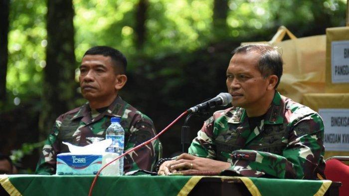 Pesan Menyentuh Eks Danjen Kopassus Mayjen TNI I Nyoman Cantiasa ke Prajurit TNI AD Asli Papua