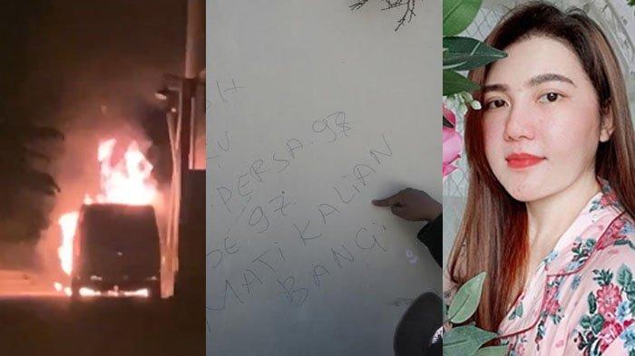 ISI PESAN Pembakar Mobil Alphard Via Vallen di Tembok Sang Pedangdut, Bawa Buku Rekening dan Jenglot