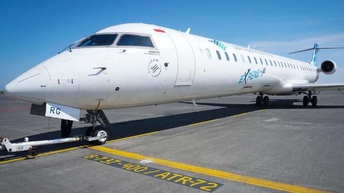 Salah satu pesawat yang dipakai Garuda Indonsia.