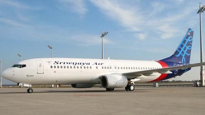 Pesawat Sriwijaya Air. Maskapai ini meluncurkan program Merdeka Deals memanfaatkan momentum HUT ke-75 Kemerdekaan RI.