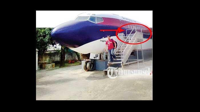 Kreatif! Bangkai Pesawat Disulap Warga jadi Rumah, Berubah begini!