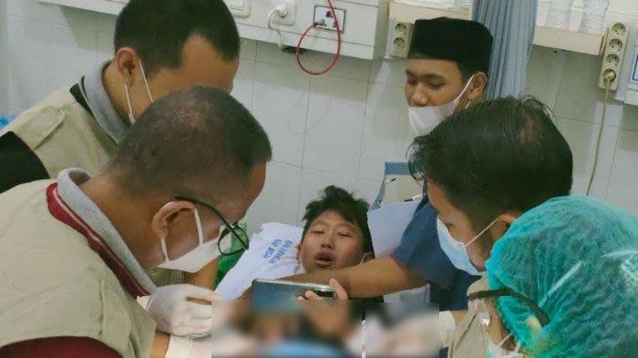 Ratusan Anak Ikuti Khitanan Massal di Rumah Sakit Angkatan Laut dr Ramelan Surabaya
