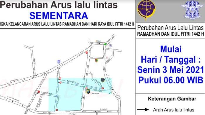 Perubahan Arus Lalu Lintas di Sejumlah Ruas Jalan di Jember selama Ramadan 2021 mulai Senin Pagi