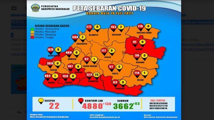 Mayoritas Bangkalan Oranye, Tetapi Zona Merah Bergeser ke 7 Kecamatan di Pesisir Selatan