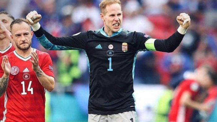 Aksi penyelamatan Peter Gulacsi di babak pertama mengancam Jerman pulang dari Euro 2020.