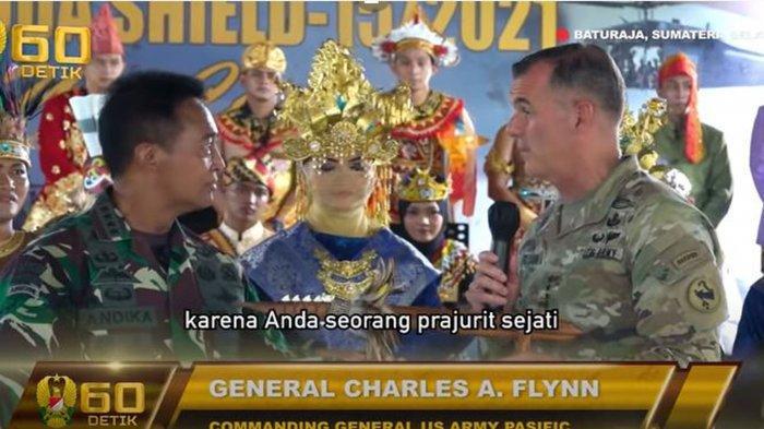 Petinggi Militer Amerika Serikat Sebut Jenderal Andika Perkasa Prajurit Sejati & Beri Hadiah Spesial