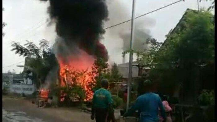 Pom Mini di Bojonegoro Terbakar Bikin Pemilik Alami Luka, Begini Kejadiannya