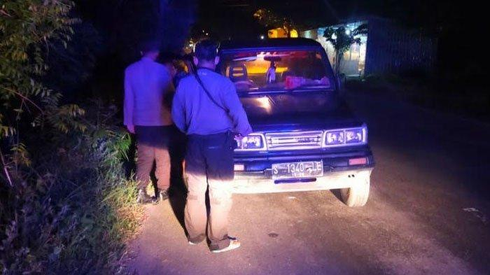 Antisipasi Balap Liar, Polsek Benjeng Gresik Lakukan Patroli saat Sahur