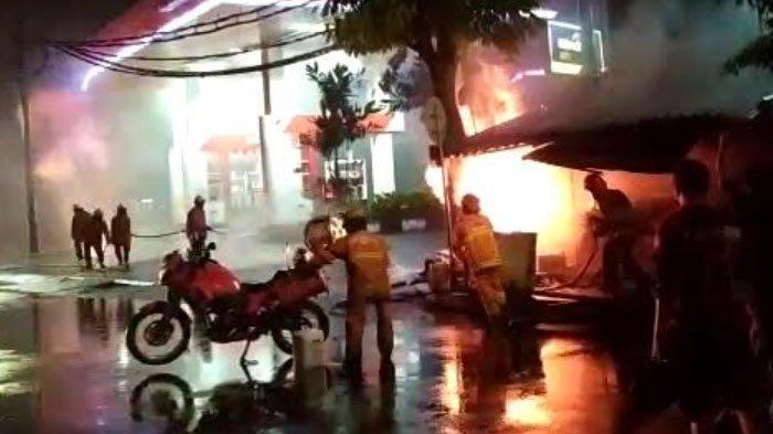 Kronologis Kebakaran dan Ledakan di Saluran Gas dekat SPBU Margomulyo Kota Surabaya
