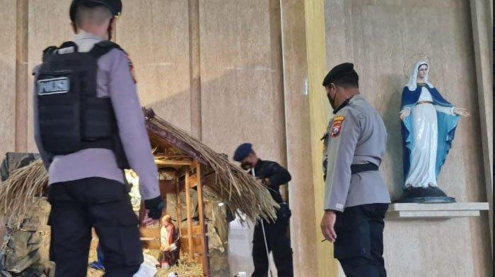 Jelang Misa Natal, Tim Penjinak Bom Dikerahkan untuk Sterilisasi Gereja di Sidoarjo