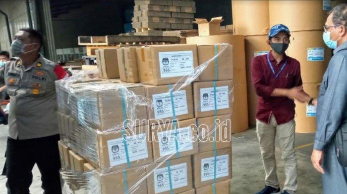 KPU Kabupaten Mojokerto : Jumlah Surat Suara Pilbup Mojokerto 2020 Ada 846.617 Lembar